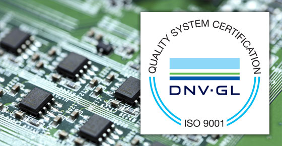 Westermo operates a quality assurance system complying with ISO-9001:2015 verified by DNV.