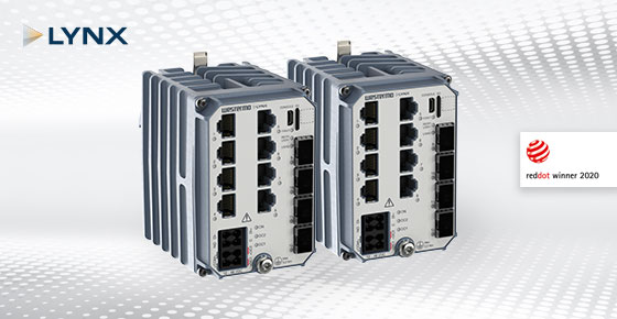 Westermo Industrial Ethernet Switch Lynx 5512.