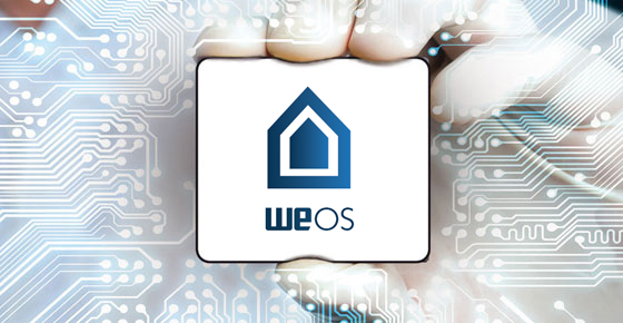 WeOS Network Operating System.