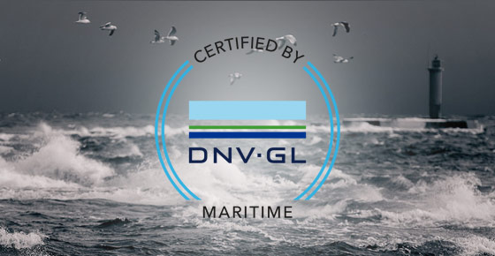 DNG GL approved networking procucts for maritime use.