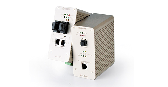 Industrial Ethertnet to Fiber Media Converters by Westermo.