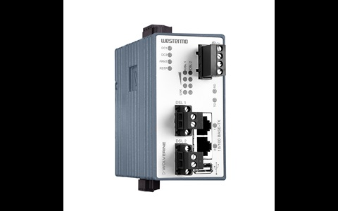 Industrial Ethernet Extender DDW-142/242-485 by Westermo.