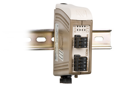 Point-to-Point Fibre Converter RS-422/485 ODW-730 by Westermo